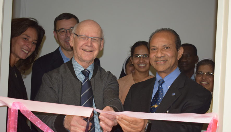 Inauguration of the New Dining Hall and Kitchen in the Generalate