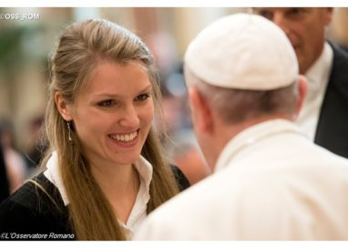 Pope to students: 'Overcome globalization of indifference with freshness of Gospel'