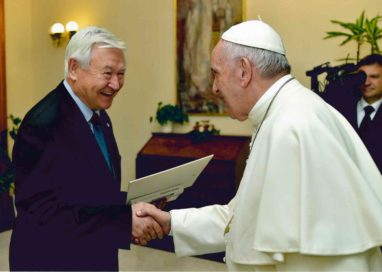 Encounter with the Pope Francis, on 6 October 2017