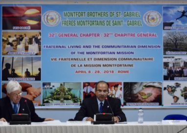 32nd GENERAL CHAPTER – INAUGURAL MESSAGE BY THE SUPERIOR GENERAL