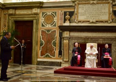 ADDRESS TO THE HOLY FATHER, POPE FRANCIS: 27.04.2018